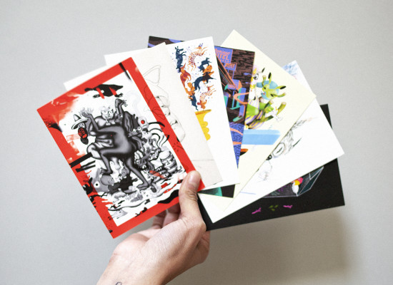 Cartes de visite du studio
