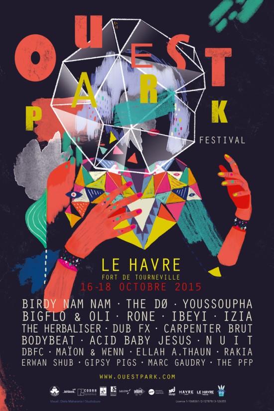 Ouest Park festival 2015
